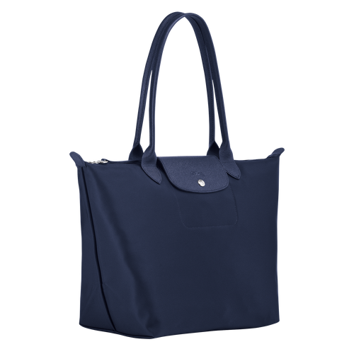Shoulder bag L, Navy, hi-res - View 2 of 3