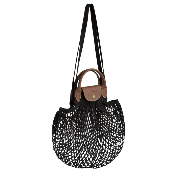 Le Pliage filet Top handle bag, Black