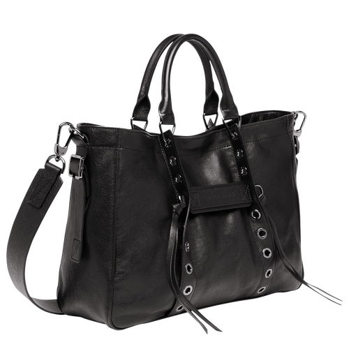 Tote bag M, Black, hi-res - View 2 of 4