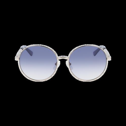 Sonnenbrille, Gold/Blau - Ansicht 1 von 2 -