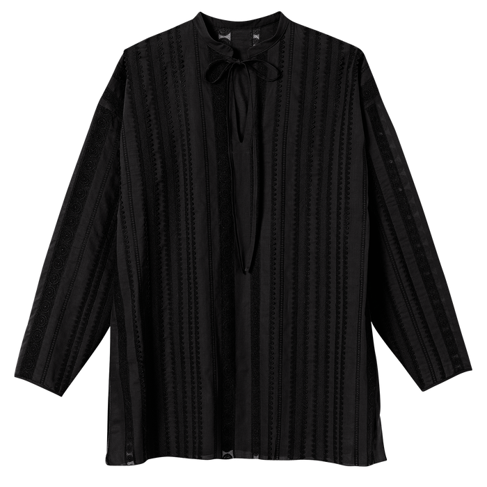 Spring-Summer 2021 Collection Blouse, Black