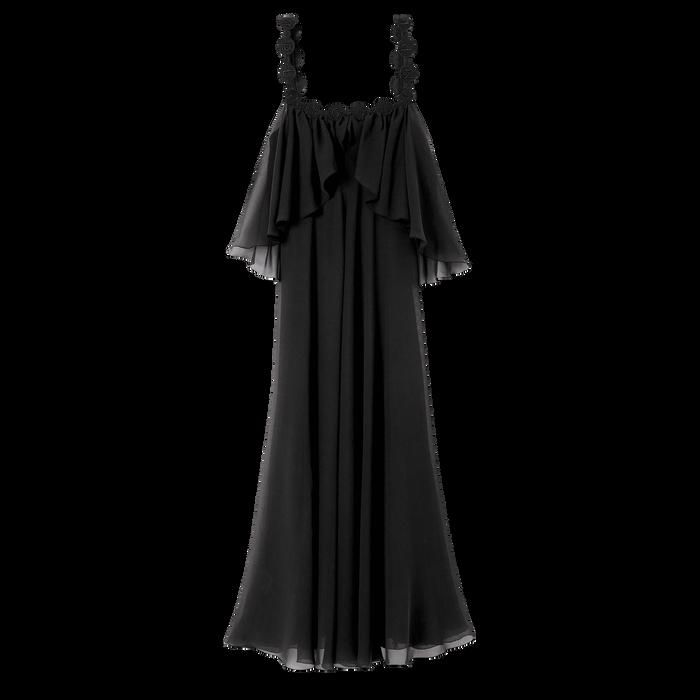 Collectie voor Lente/Zomer 2021 Lange jurk, Zwart