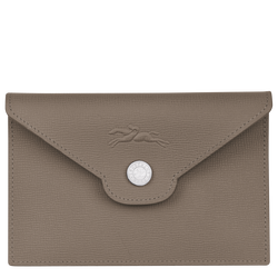Card holder, Taupe