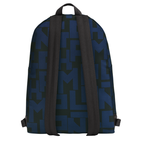 Backpack M, Black/Navy, hi-res - View 3 of 4