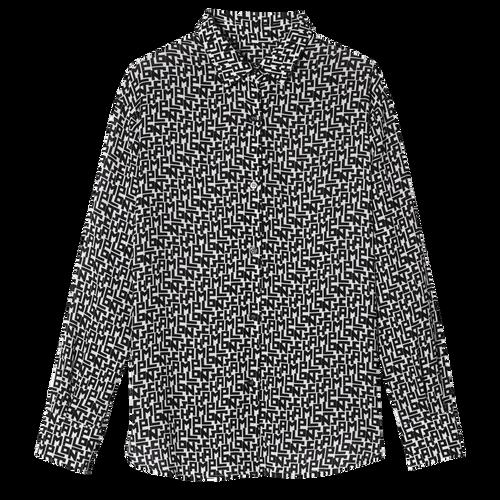 Vue 1 de Chemise, 067 Noir/Blanc, hi-res