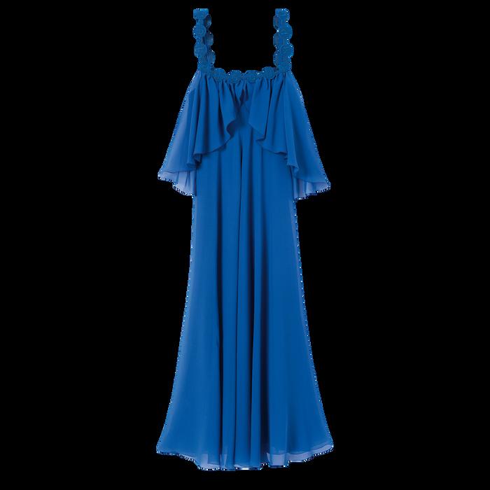 Collectie voor Lente/Zomer 2021 Lange jurk, Blauw