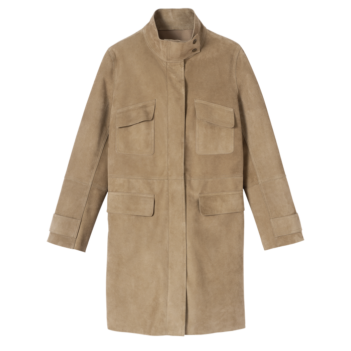 Spring-Summer 2021 Collection Coat, Khaki