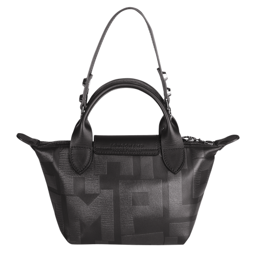 Vue 3 de Mini sac porté main, 001 Noir, hi-res