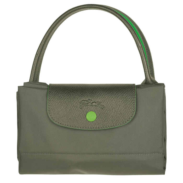 ル プリアージュ クラブ トップハンドルバッグ M, Longchamp Green