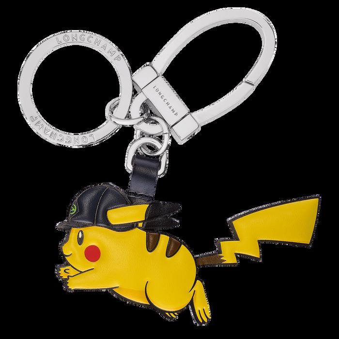 Porte-clés Pikachu à bombe de cheval, Jaune - Vue 1 de 2 - agrandir le zoom