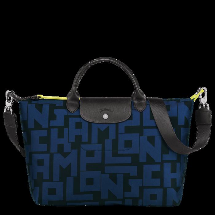Top handle bag L, Black/Navy - View 1 of 4 - zoom in