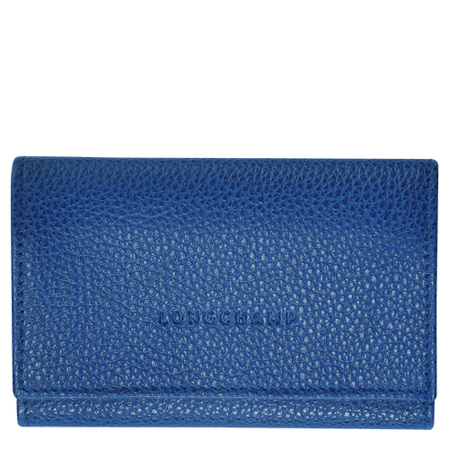Le Foulonné Coin purse, Sapphire