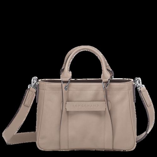 Top handle bag S, Brown, hi-res - View 1 of 3