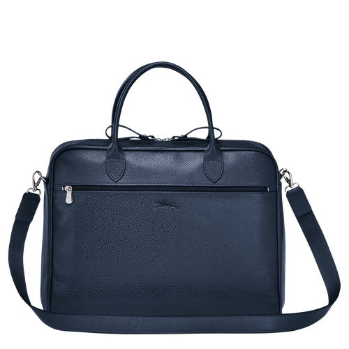 Briefcase M, Navy, hi-res - View 3 of 3