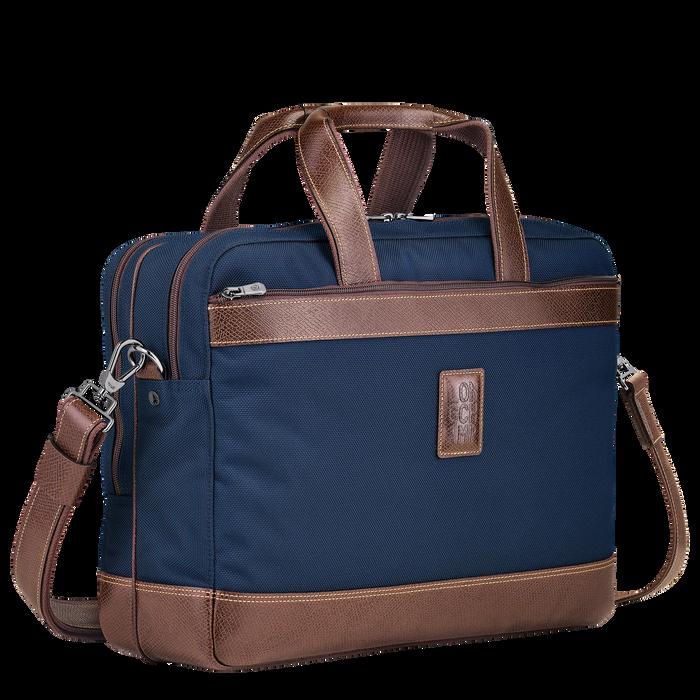 Briefcase L, Blue, hi-res - View 2 of 3