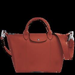 Top handle bag M, Sienna