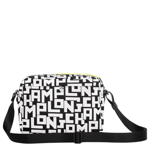 Le Pliage LGP Crossbody bag M, Black/White