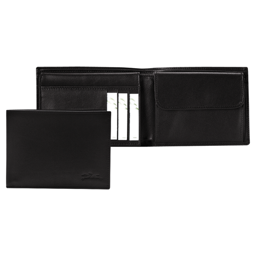 View 1 of Small wallet, 001 Black, hi-res