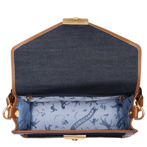 View 4 of Hobo bag, 127 Blue, hi-res
