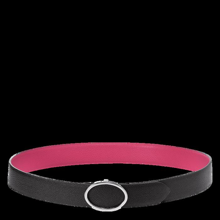 Ladies' belt, Black/Pale Pink - View 1 of 1 - zoom in