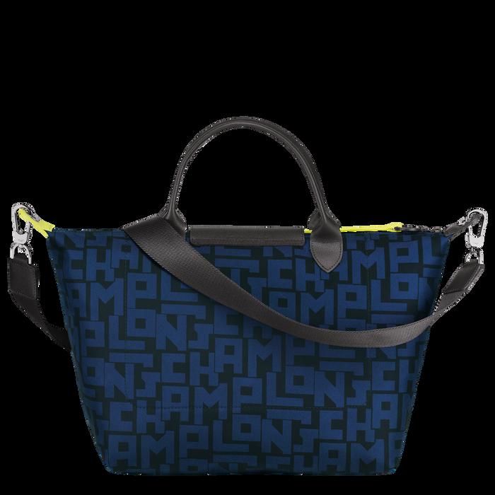 Top handle bag M, Black/Navy - View 3 of 4 - zoom in