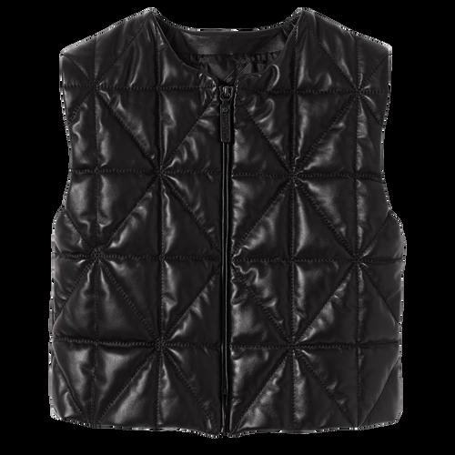 Collection Automne-Hiver 2021 Veste Sans Manches, Noir