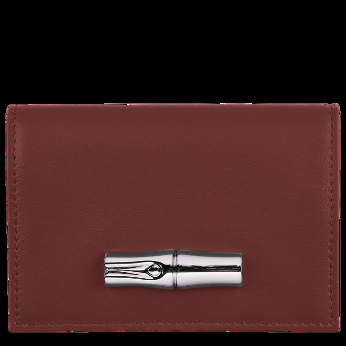 小型錢包, 赤褐色 - 查看 1 2 - 放大