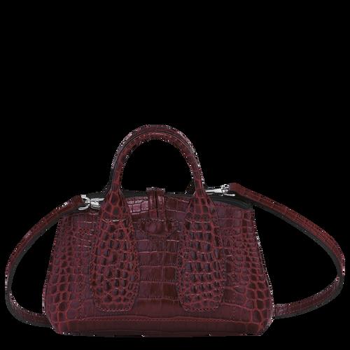 Top handle bag XS, Burgundy - View 4 of 4 -