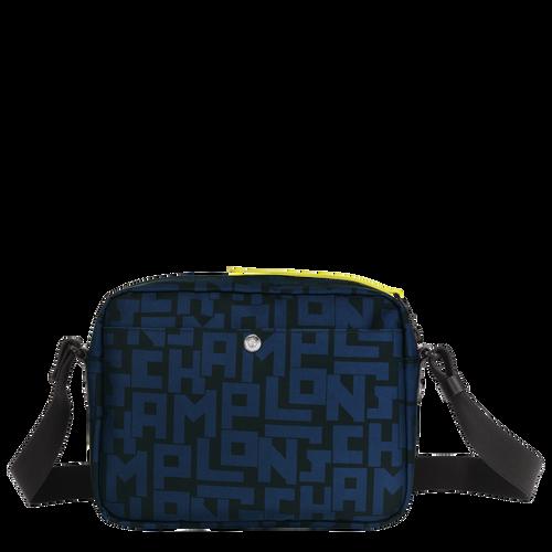 斜揹袋 M, 黑色/海軍藍色 - 查看 3 4 -