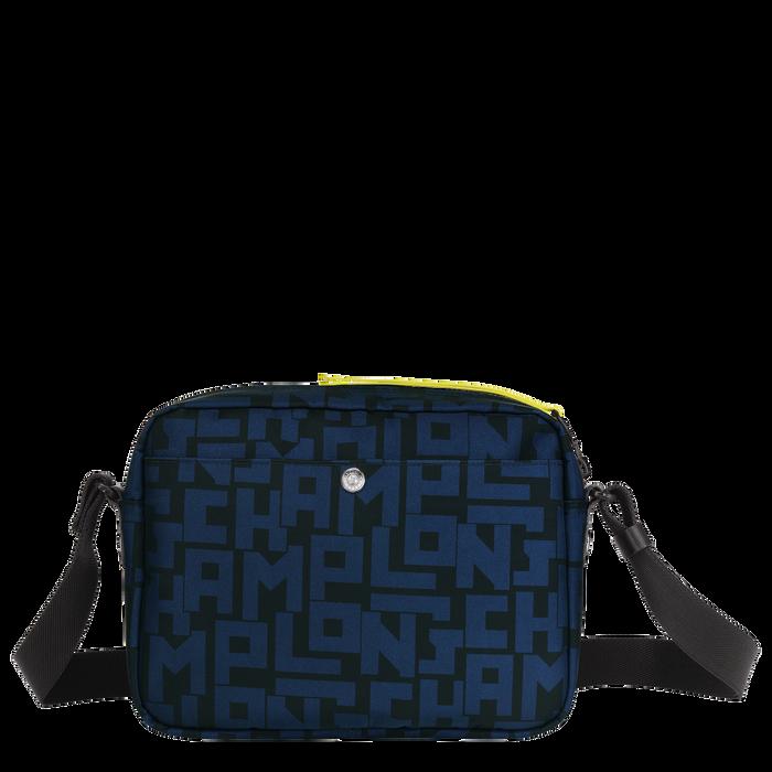 斜揹袋 M, 黑色/海軍藍色 - 查看 3 4 - 放大