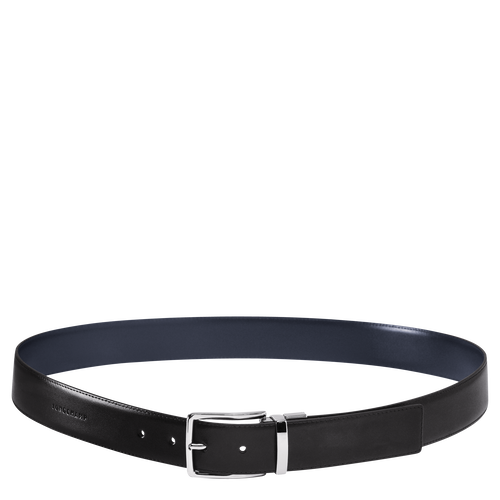Men's belt, B57 Black/Navy, hi-res