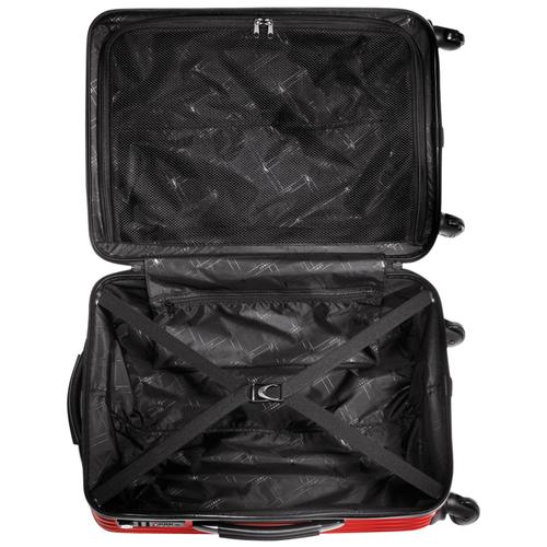 Koffer mit Rollen, 545 Rot, hi-res