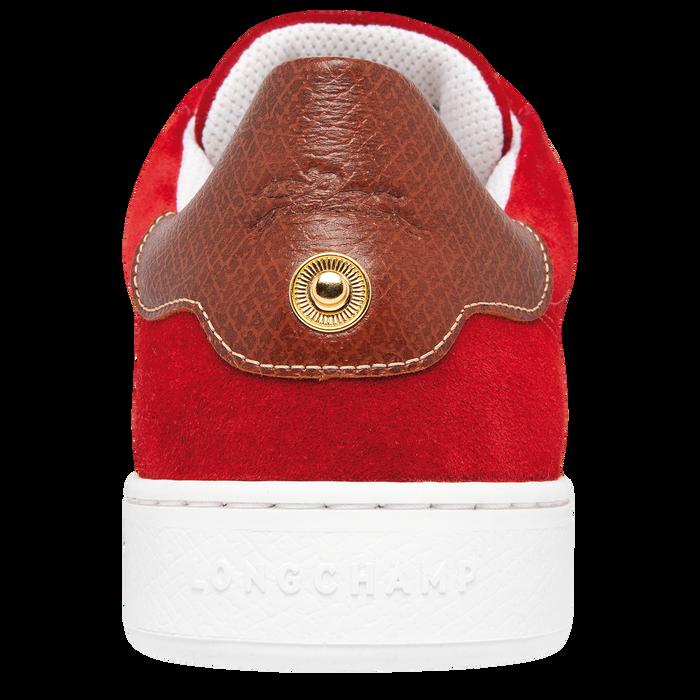 Sneakers, Rouge - Vue 3 de 5 - agrandir le zoom