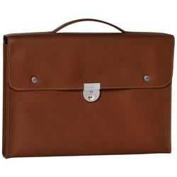 Briefcase S, 504 Cognac, hi-res