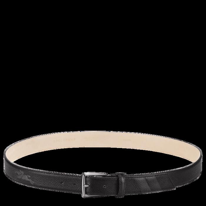 Men's belt, Black - View 1 of  1.0 - zoom in