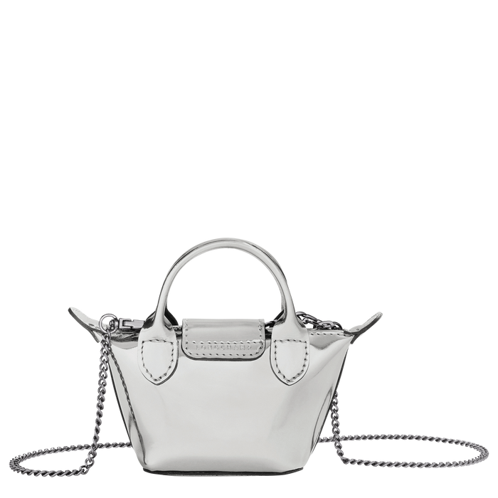 Crossbody bag XS, Silver - View 3 of  3 - zoom in