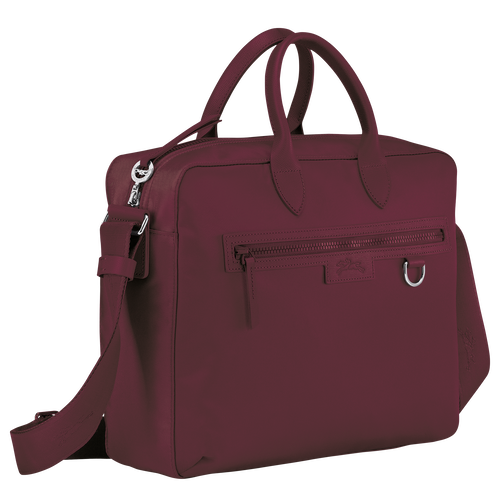 Briefcase, Gold/Violet - View 2 of 3 -