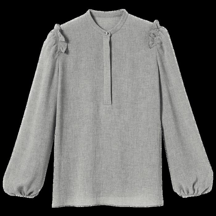 2021 秋冬系列 女襯衫, 灰色