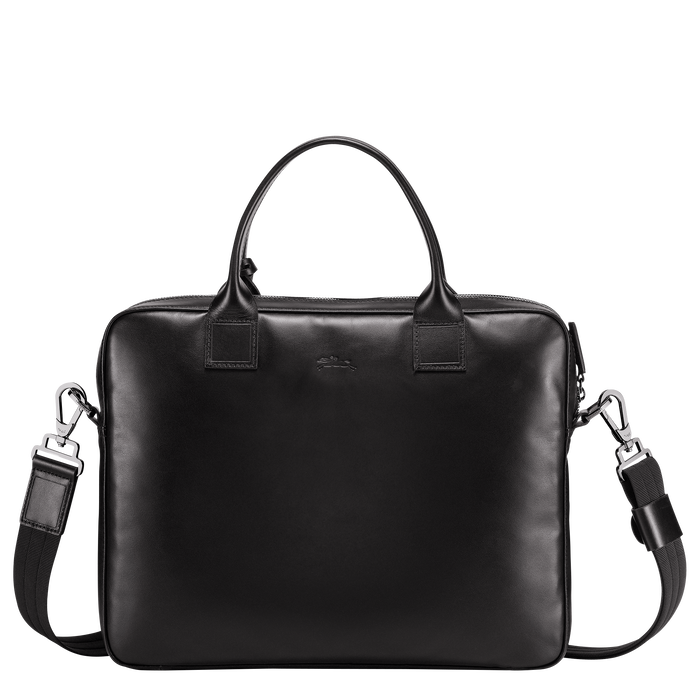 Briefcase S, Black/Ebony - View 3 of  3 - zoom in