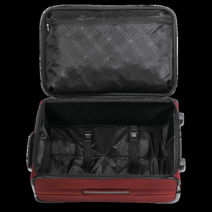 Handgepäck-Koffer, Lackrot - Ansicht 3 von 3 - Zoom vergrößern