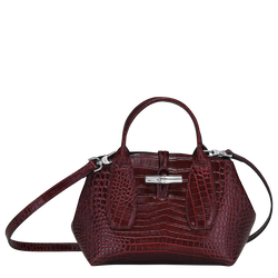 Top handle bag S, Burgundy