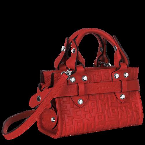 Top handle bag S, Burnt Red, hi-res - View 2 of 3