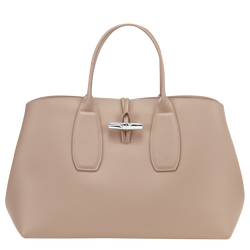 Top handle bag L, Sand, hi-res