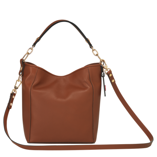 Small bucket bag, Cognac, hi-res - View 3 of 3