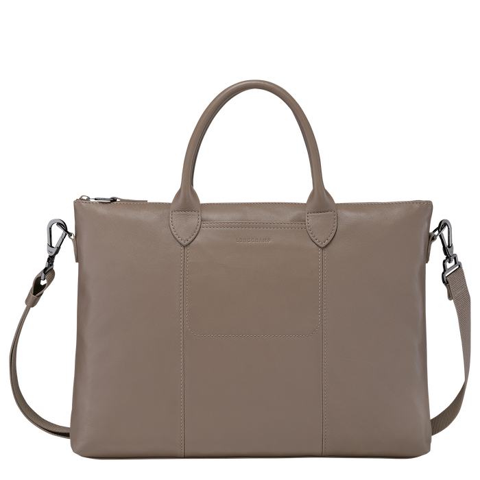 Top handle bag, Taupe - View 1 of 3 - zoom in