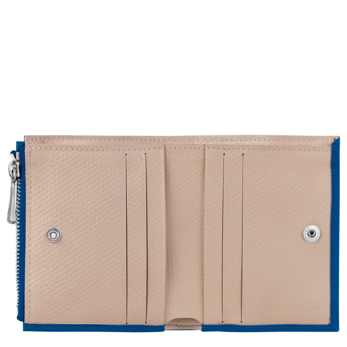 Cartera compacta, Azul - Vista 2 de 2 - ampliar el zoom