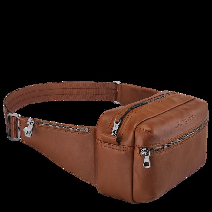 Longchamp 3D Borsa da cintura, Cognac