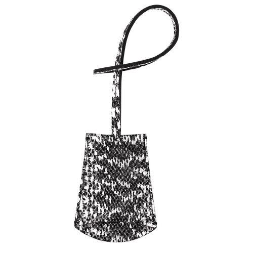 Vue 2 de Porte-clés, Noir/Blanc, hi-res