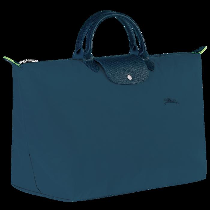 Le Pliage Green Travel bag L, Ocean