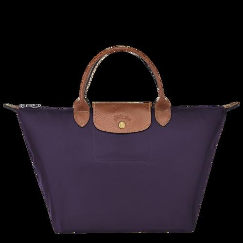 Le Pliage Original Top handle bag M, Bilberry